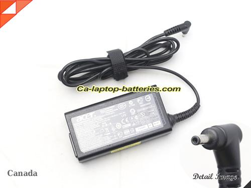 image of ACER ADP-65MH B ac adapter, 19V 3.42A ADP-65MH B Notebook Power ac adapter ACER19V3.42A65W-3.0x1.0mm-small