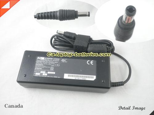 image of ACBEL API4AD33 ac adapter, 19V 3.95A API4AD33 Notebook Power ac adapter AcBel19V3.95A75W-5.5x2.5mm