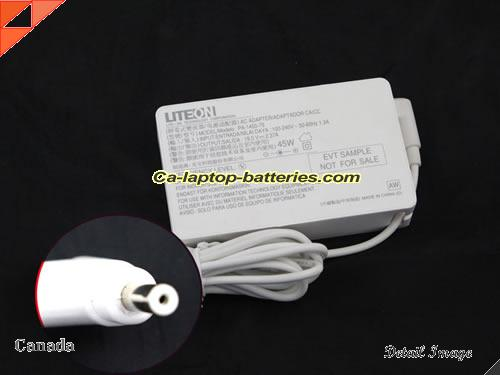 image of ACER PA-1450-26 ac adapter, 19V 2.37A PA-1450-26 Notebook Power ac adapter LITEON19V2.37A45W-3.0x1.0mm-W