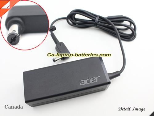 image of ACER KP0450H.002 ac adapter, 19V 2.37A KP0450H.002 Notebook Power ac adapter ACER19V2.37A45W-5.5x1.7mm