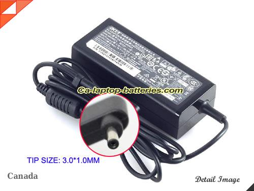 image of ACER KP.0450H.007 ac adapter, 19V 2.37A KP.0450H.007 Notebook Power ac adapter ACER19V2.37A45W-3.0x1.0mm-B