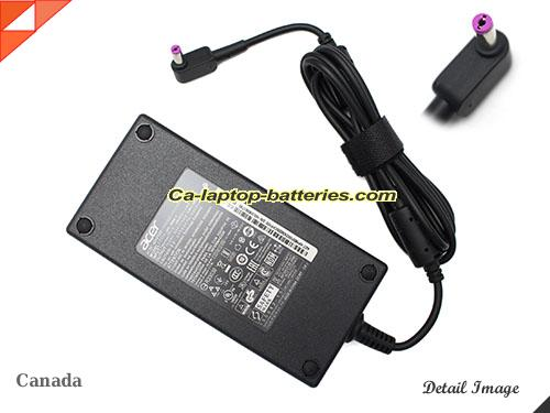 image of ACER KP.18001.003 ac adapter, 19.5V 9.23A KP.18001.003 Notebook Power ac adapter ACER19.5V9.23A180W-5.5x1.7mm