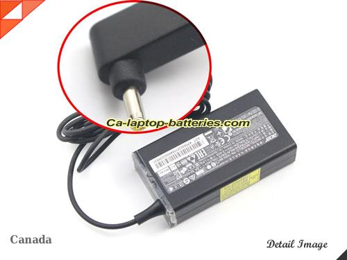 image of ACER ADP-65DE B ac adapter, 19V 3.42A ADP-65DE B Notebook Power ac adapter ACER19V3.42A65W-3.0x1.0mm