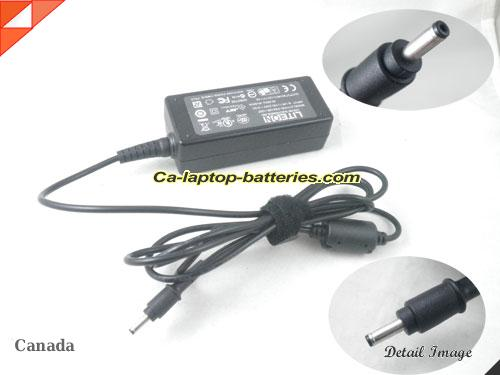image of ACER PA-1650-02 ac adapter, 12V 1.5A PA-1650-02 Notebook Power ac adapter LITEON12V1.5A18W-3.0x1.0mm