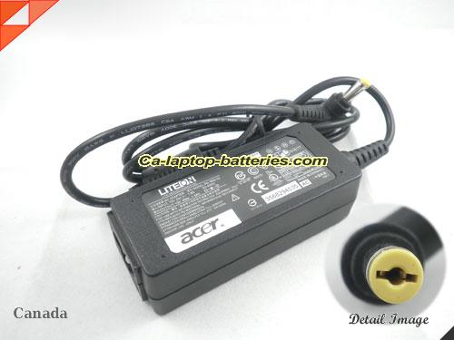 image of ACER PA-1650-02 ac adapter, 19V 1.58A PA-1650-02 Notebook Power ac adapter ACER19V1.58A30W-5.5x1.7mm