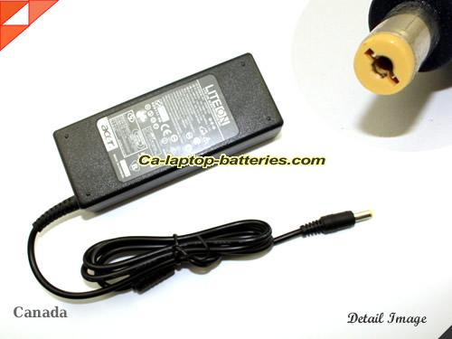 image of ACER PA-1650-02 ac adapter, 19V 4.74A PA-1650-02 Notebook Power ac adapter LITEON19V4.74A90W-5.5x1.7mm