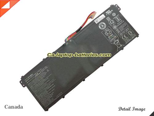 Genuine ACER Aspire 3 A315-51-55E4 Battery For laptop 4810mAh, 7.7V, Black , Li-Polymer