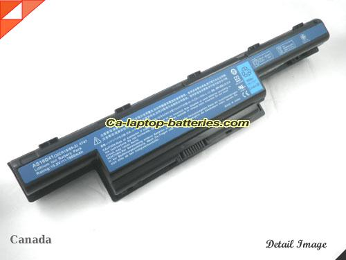 Genuine ACER ASPIRE 4252G SERIES Battery For laptop 4400mAh, 10.8V, Black , Li-ion
