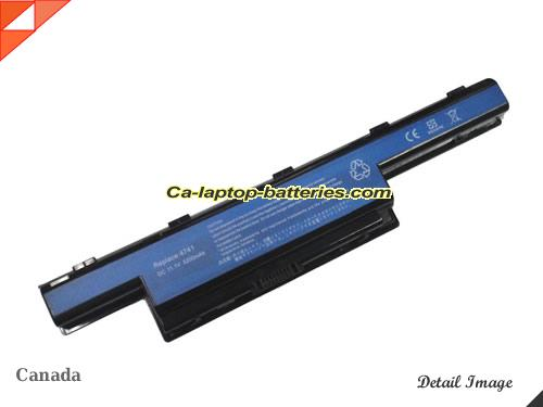 ACER ASPIRE 4743ZG SERIES Replacement Battery 5200mAh 10.8V Black Li-ion