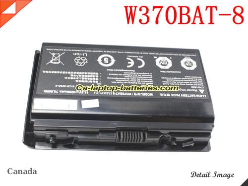 Genuine AFTERSHOCK XG15 V3 Battery For laptop 5200mAh, 76.96Wh , 14.8V, Black , Li-ion