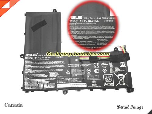 Genuine ASUS EeeBook E202SA Battery For laptop 4110mAh, 48Wh , 11.4V,  , Li-ion