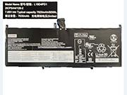 Canada Genuine LENOVO L19D4PD1 Laptop Computer Battery 5B10U65275 Li-ion 7820mAh, 60Wh