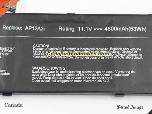 image 3 of TRAVELMATE P658-G2-MG-52F76 Battery, Canada New Batteries For ACER TRAVELMATE P658-G2-MG-52F76 Laptop Computer