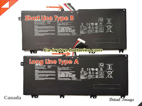 image 5 of GL703VD-GC024T Battery, Canada New Batteries For ASUS GL703VD-GC024T Laptop Computer