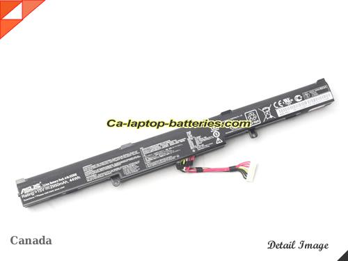 image 2 of F550ZE-XO176T Battery, Canada New Batteries For ASUS F550ZE-XO176T Laptop Computer