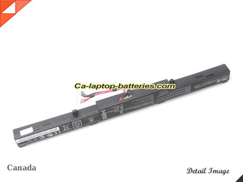 image 4 of F550ZE-XO176T Battery, Canada New Batteries For ASUS F550ZE-XO176T Laptop Computer