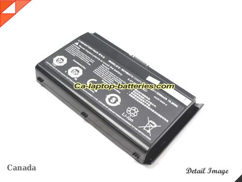 image 4 of XG17 V2 Battery, Canada New Batteries For AFTERSHOCK XG17 V2 Laptop Computer
