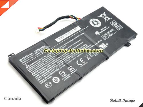 image 1 of VN7-592G-74FP Battery, Canada New Batteries For ACER VN7-592G-74FP Laptop Computer