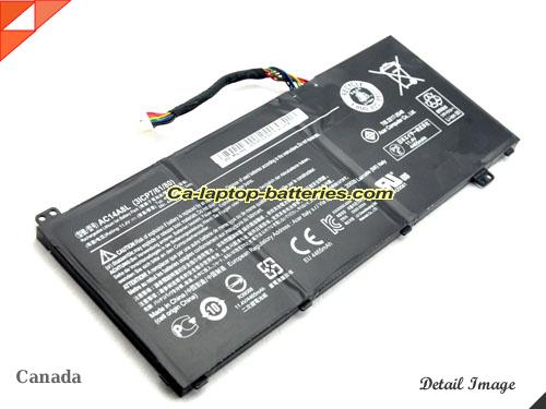 image 5 of VN7-792 785Q Battery, Canada New Batteries For ACER VN7-792 785Q Laptop Computer