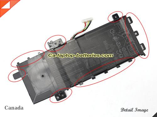 image 1 of F512FB Battery, Canada New Batteries For ASUS F512FB Laptop Computer