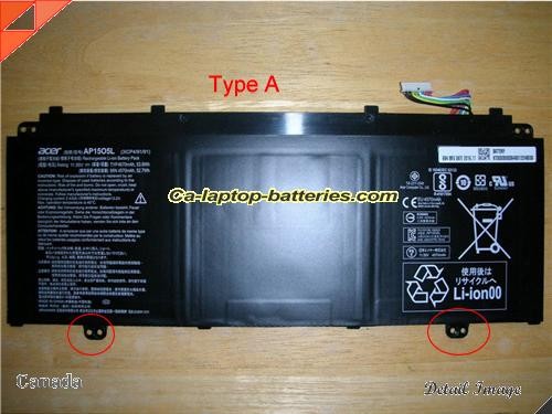 image 1 for ACER CHROMEBOOK R13 SERIES Battery, Canada New Batteries For ACER ACER CHROMEBOOK R13 SERIES Laptop Computer