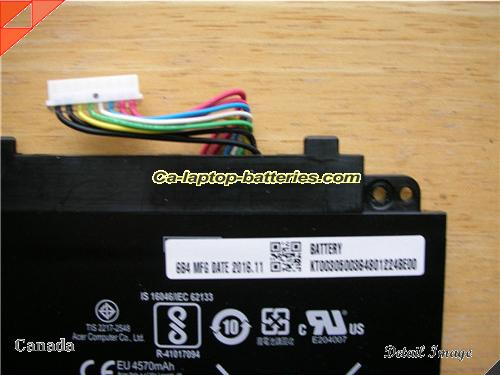 image 3 for ACER CHROMEBOOK R13 SERIES Battery, Canada New Batteries For ACER ACER CHROMEBOOK R13 SERIES Laptop Computer