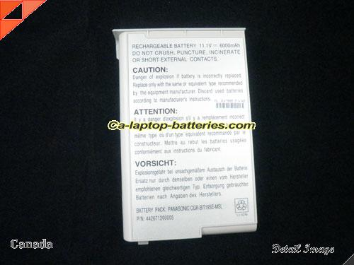image 3 for AccelNote 8170 Battery, Canada New Batteries For ACCEL AccelNote 8170 Laptop Computer